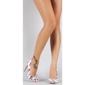 Shoe Republic LA   Paint Splatter Stilettos